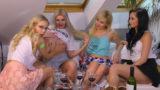 Over 1 Hour of Pure Upskirt, Shaved Shiny Legs and Panties Madness: TWISTER GIRLS, UNCUT from DIFFERENT ANGLES FULL VIEW DIRECTOR´S EDITION