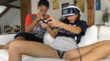 May the 4th be With You – Eva and Isabel Play with PS VR Galactic Games
