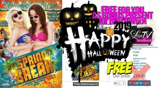 Spring Break right before the Halloween: Group & Public Sex BONUS DVD to Download and or WATCH, FREE