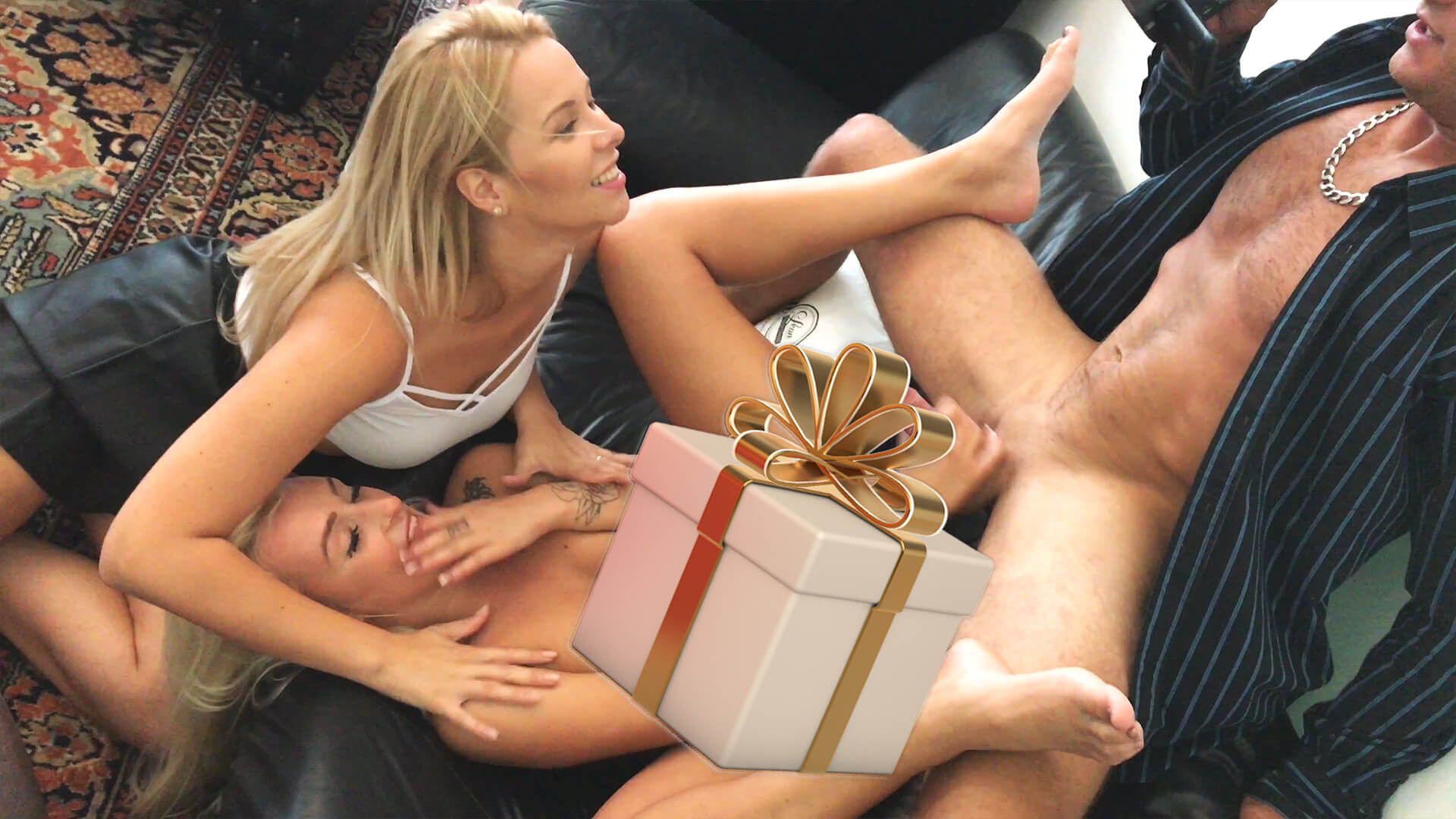 POV Handjob Secrets with Lots of Cum on Clothes directly from the Location with Daisy and Carolina – a Love The Porn EXTRA in 4K, Full HD and 720p