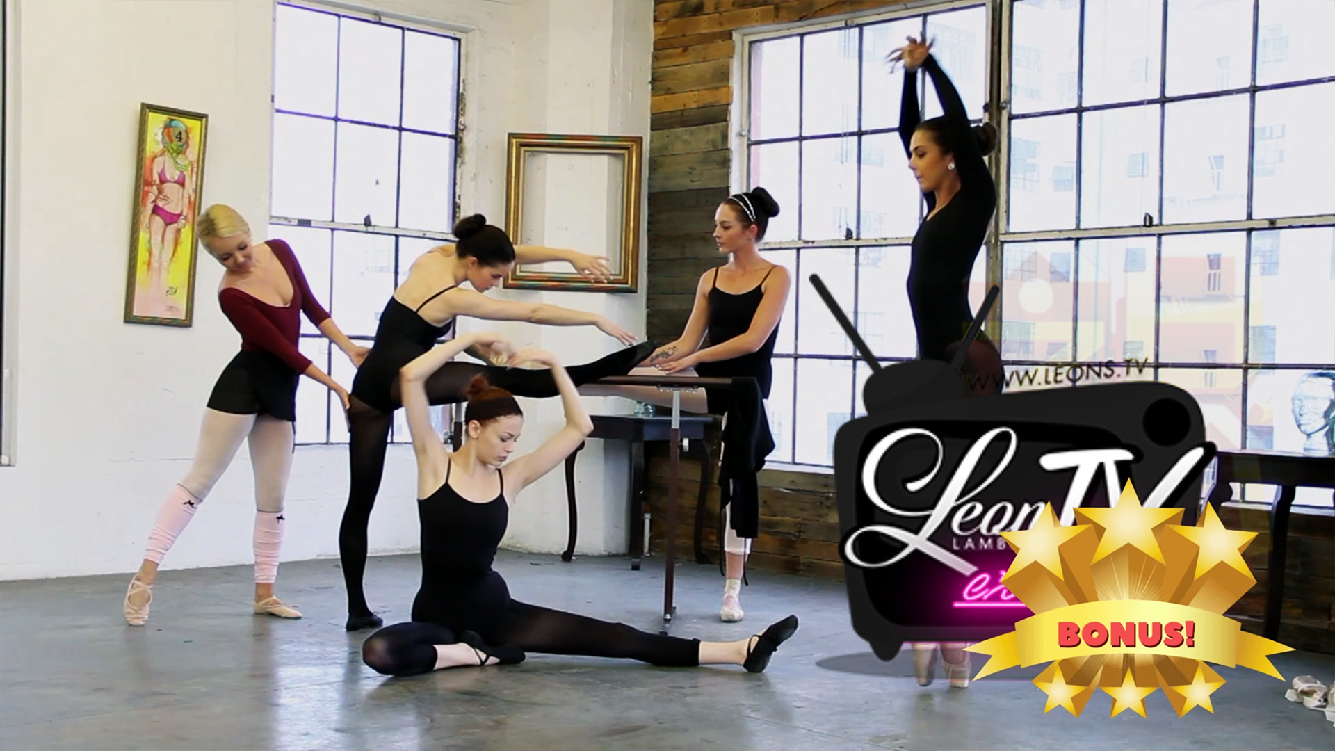 Tight Teens of Ballerina School – a Very SPECIAL BONUS Scene with lots of twists and surprises