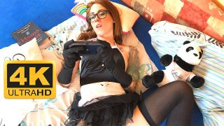 Sandra She is here for the Tease French Maid Girl with Eyeglasses here for Edging, Teasing, Fapping and Cumming MyGirlPlay Series #1 Special Edition – Exclusive Very Special from Leon Lambert – 4K, FHD & 720p