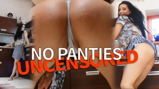 Want more direct Nudity? Here´s Lucie, Notorious Kitchen Twerk NO PANTIES DOUBLE TAKE, UNCUT, UNCENSORED, RAW from 4K CAMERAS